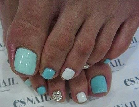 20 + Easy & Simple Toe Nail Art Designs, Ideas & Trends 2014 For Beginners  & Learners - Best 25+ Easy Toe Nails Ideas On Pinterest Simple Toe Nails, Toe
