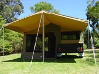 My husband really enjoys camping during the summer. However, he has now decided that he wants to upgrade from a tent. Hopefully we will be able to find an off road camper trailer for sale somewhere nearby.