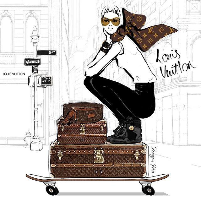 Louise Vuitton | Megan Hess