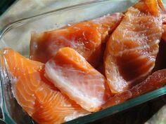 Соленая красная рыбка за 24 часа