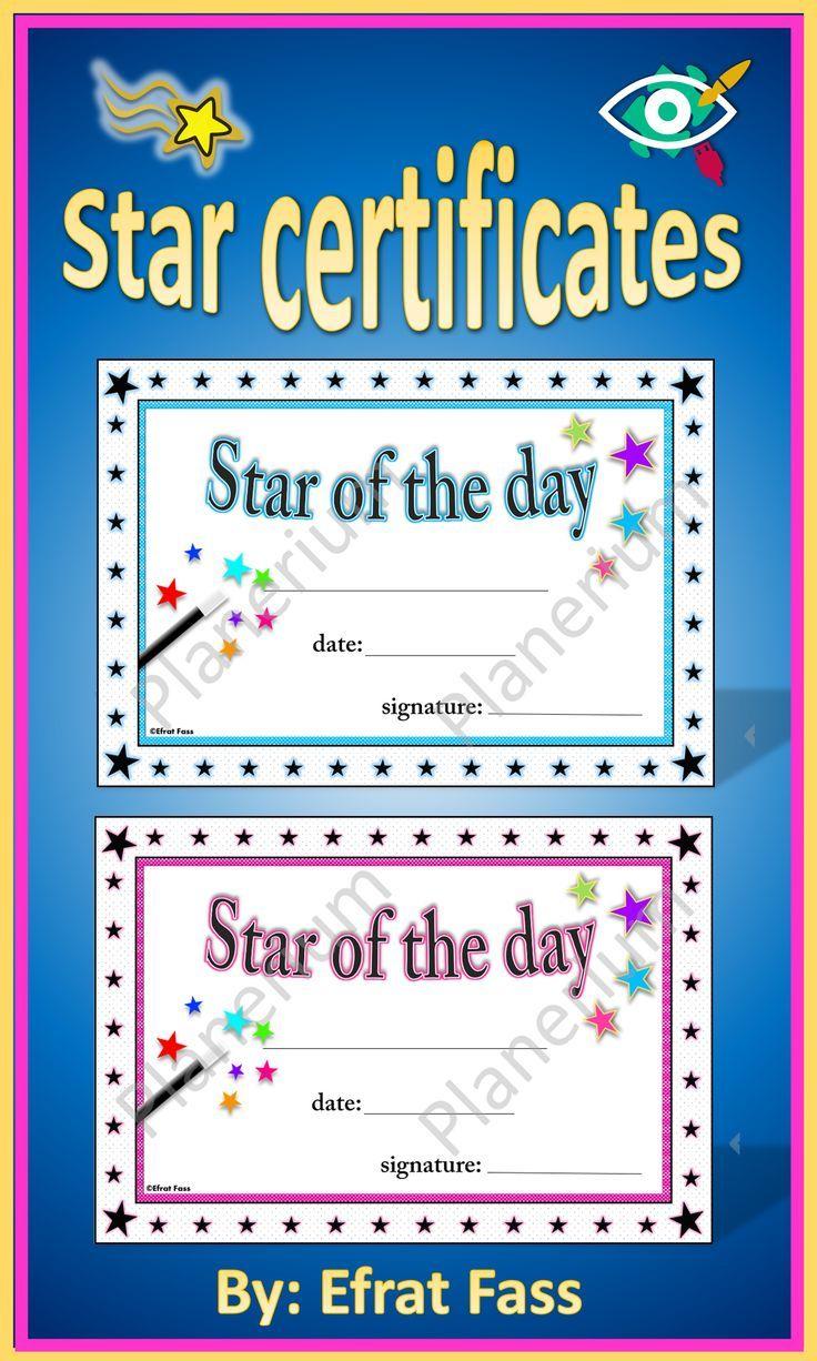 Star Of The Week Certificate Printable Teaching Resources Print Play Learn Star Of The Week Printable Teaching Resources Certificate Templates