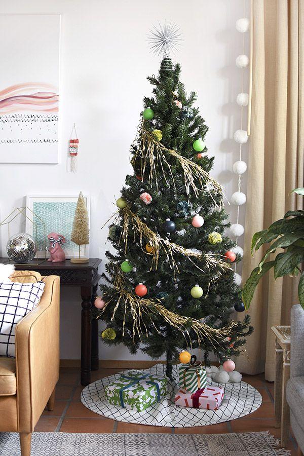 Modern, Colorful Christmas Tree Christmas Ideas Pinterest