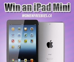 Love Apple Products?  Re-pin and click here to Win an iPad Mini from WomenFreebies! http://womenfreebies.ca/contest/wf-ipad-mini/?win  *Expires April 11, 2013*