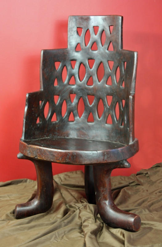 Amazing chair. African