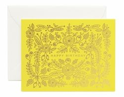 Limoncello Birthday cards designed by Anna Bond for the Spring/Summer 2016 Rifle Paper Co. collection