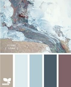 color scheme - I would change the mauve color to a deeper purple (eggplant, maybe)