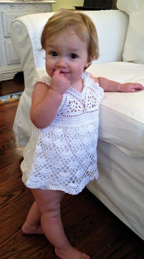 Baby-Sommerkleid-Onesie-Häkelanleitung