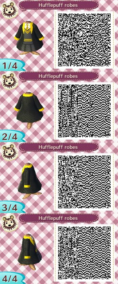 Animal Crossing New Leaf QR Codes - Dresses