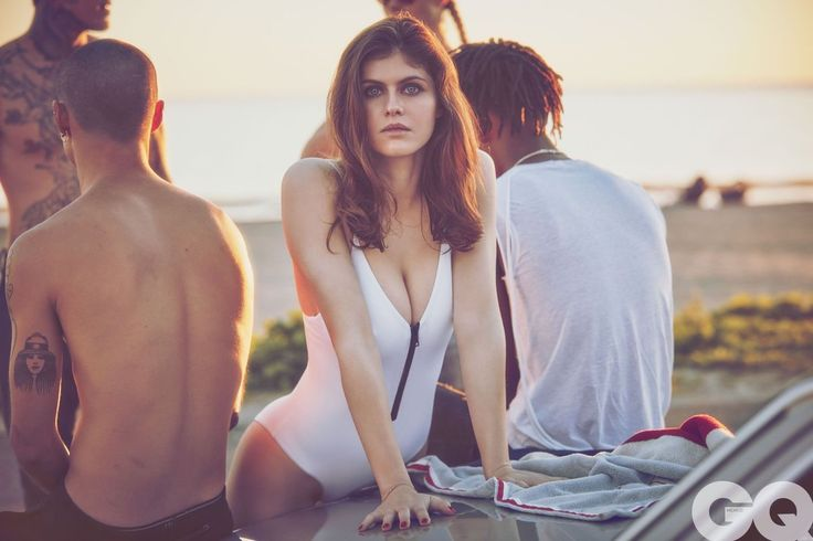 Alexandra Daddario for GQ
