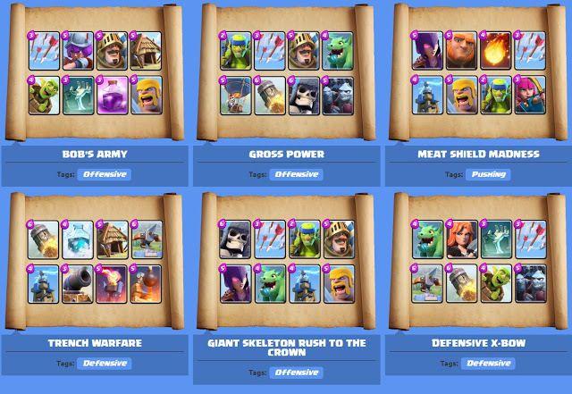 Clash Royale Deck: Mazzo Ideale e Migliori mazzi Arena 1 2 3 4 5 6 7 8  http://ift.tt/1STR6PC