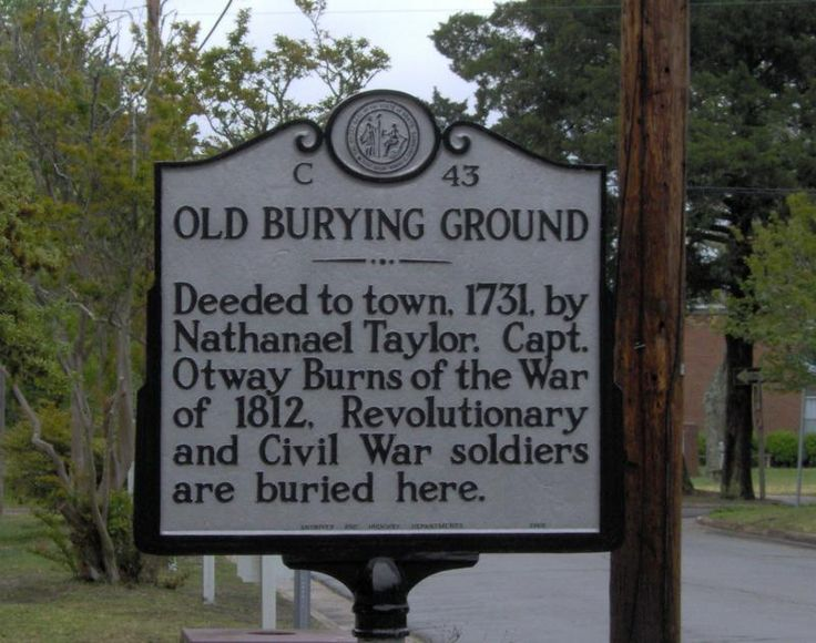 Things to do in Beaufort, North Carolina - Old Burying Ground