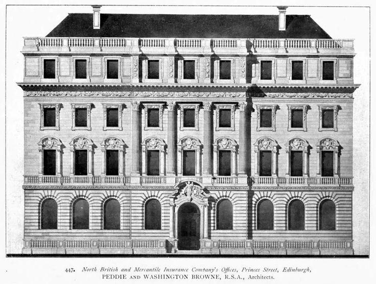 North British and Mercantile Insurance Company's Office, Edinburgh