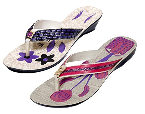 Krocs Super Comfortable Flip flop For Women Pack of 2 Pairs >>> To view further for this item, visit the image link.