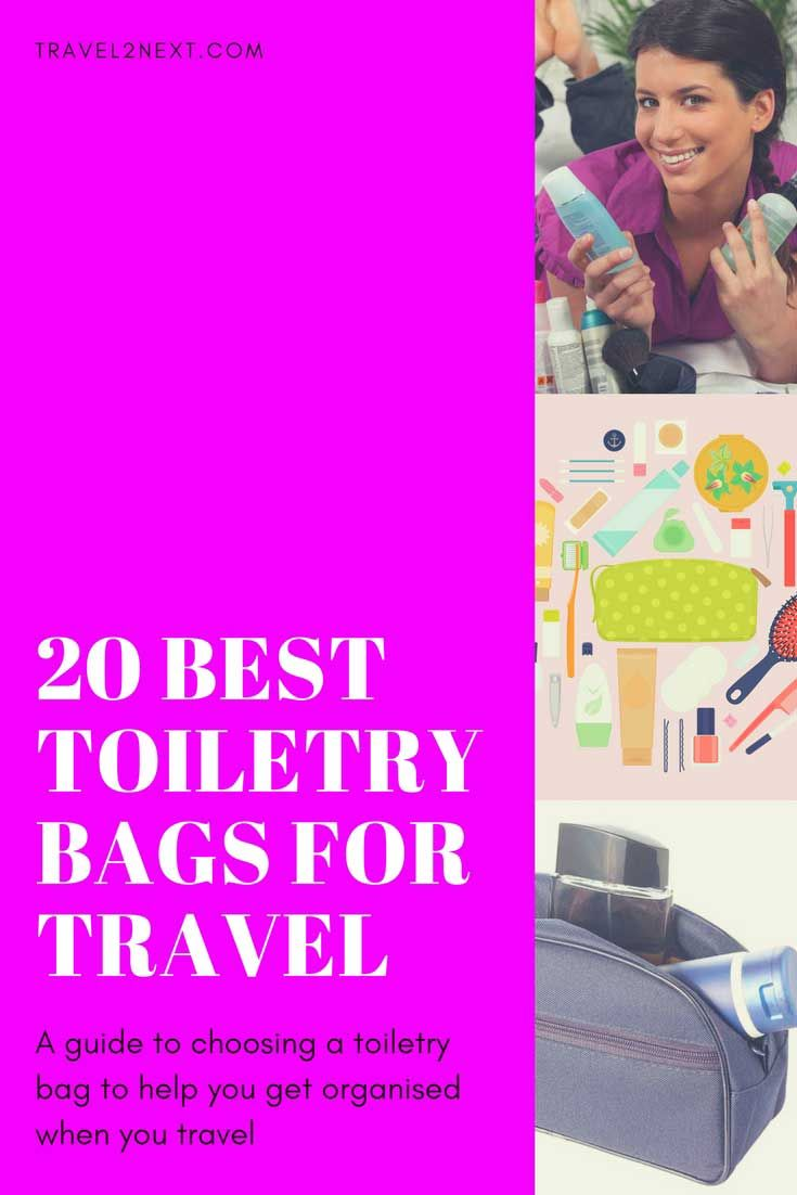 Best travel toiletry bags