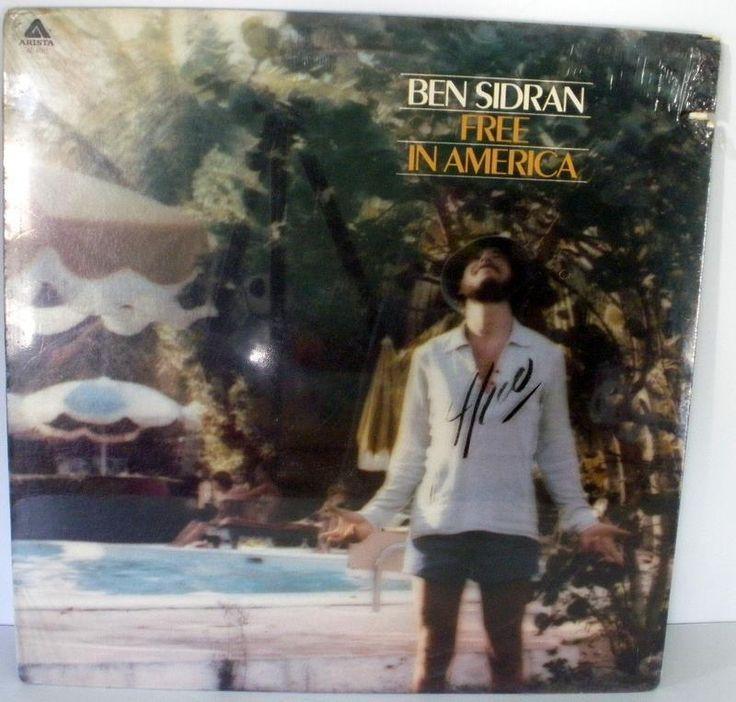 1976 Ben Sidran Free In America LP Sealed Arista Records AL 4081
