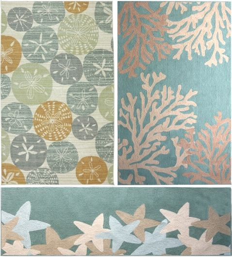 Beachy Rugs On Sale. Best Summer Sale Items With A Beach Theme, Featured On