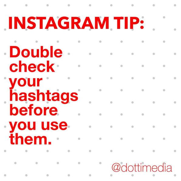 Using hashtags can help you get more followers & engagement on your posts. Using the wrong hashtags can get you a whole lot of spam followers and also can mean you get tagged in spam style posts.  Best thing to do when you want to start using a new hashtag is to use the search & explore function of Instagram to double check that's where you want to be found.  We all learn this the hard way! We know hashtags such as 'passion' and 'motivation' can lead to spammers. What has been your…