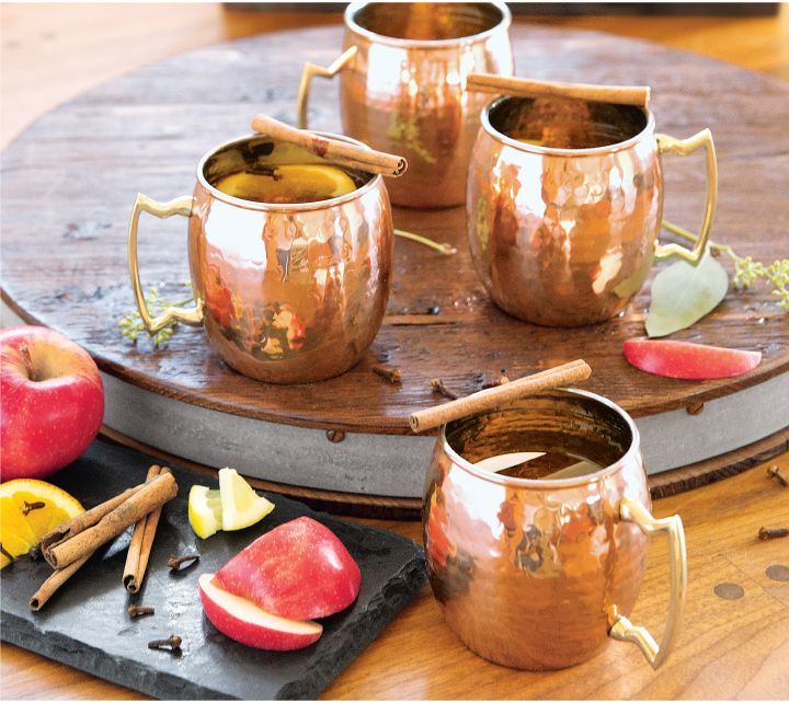 Hot, Spiced & Spiked: Boozy Apple Cider
