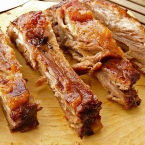 Costillas de cerdo asadas a la Coca-Cola ¡Menuda maravilla de receta os traigo hoy! Cuando la vi enseguida pensé que tenía q...