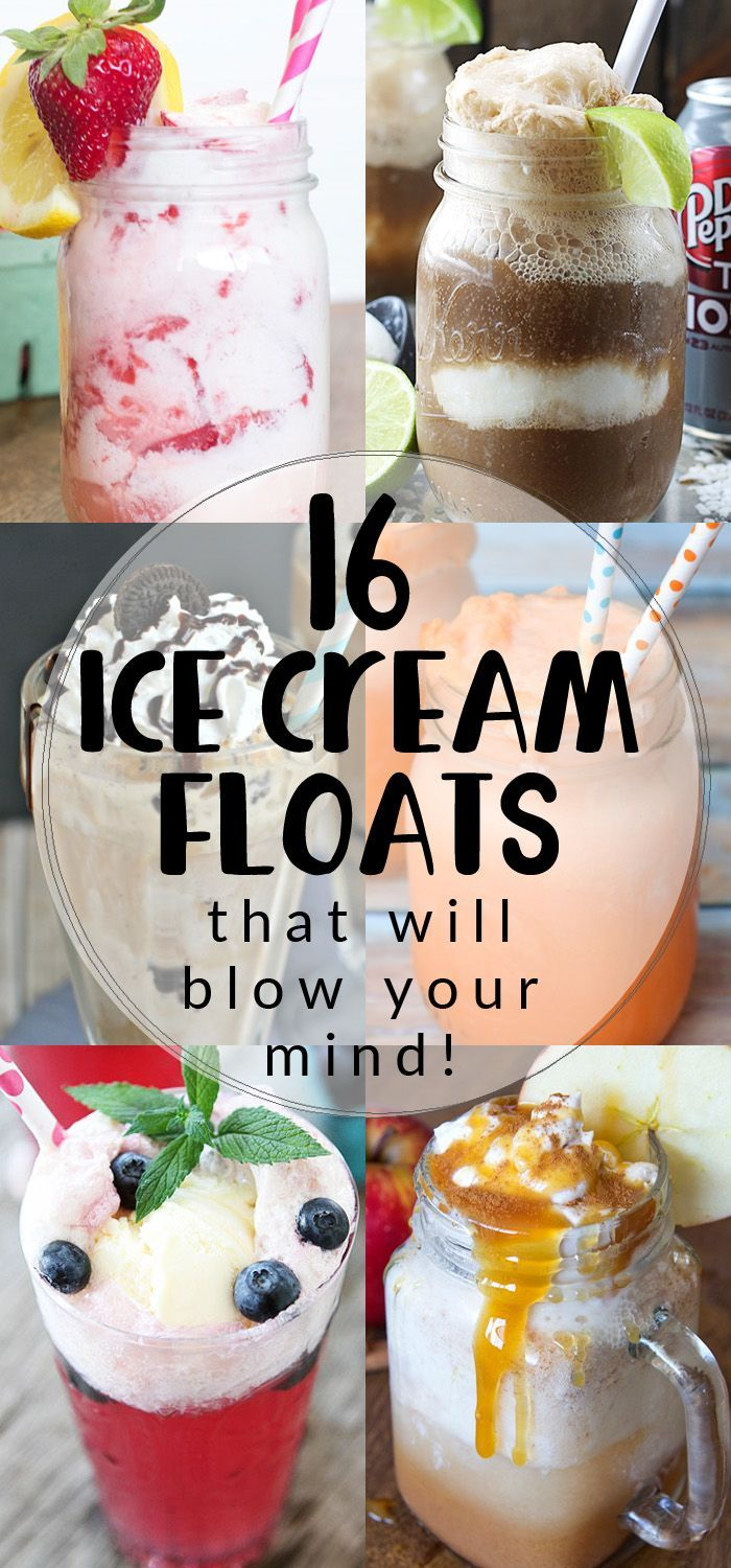 16 Ice Cream Floats the will blow your mind