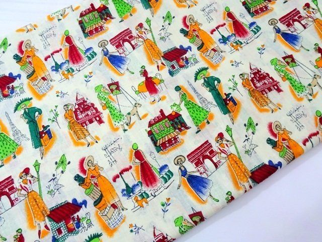 Limited stock! Travel theme fabric for clothing sewing craft and fashion, Indian cotton fabric ₹140.00 Unique travel theme cotton fabric. From rich colors to bright and fun colors, you will find a wide variety for your next quilt, apparel, home décor, or craft project Use: Dress, tunic, bag making, qui... http://shop.chezvies.com/#!/Limited-stock-Travel-theme-fabric-for-clothing-sewing-craft-and-fashion-Indian-cotton-fabric/p/84259370