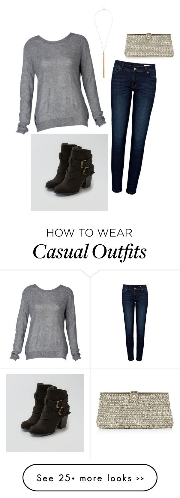"""""""Cute and casual"""" by kaitlyn-huff on Polyvore featuring Anine Bing, American Eagle Outfitters, Monsoon and River Island"""