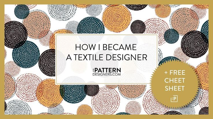 DOWNLOAD OUR FREE TEXTILE DESIGNER CHEAT SHEET - http://bit.ly/FreeTextileDesignCheatSheet Thank you so much for stopping by. I hope this video is helpful to...