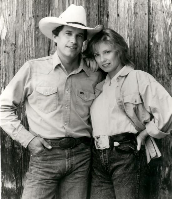 PURE COUNTRY (1992) - George Strait - Universal - Publicity Still.