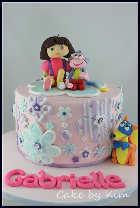 15 best cake images on Pinterest Dora cake Birthday party ideas