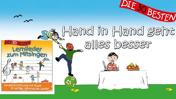 Hand in Hand geht alles besser - Die besten Lernlieder || Kinderlieder