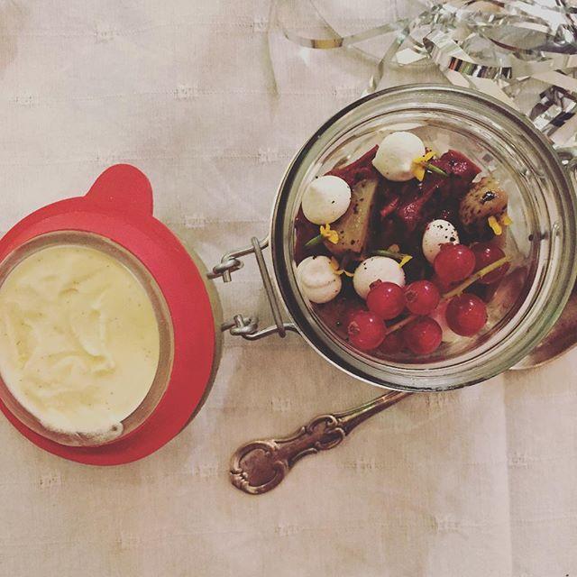 The prettiest dessert I have ever made  #nytårikrogen #dessert #foodie #newyear