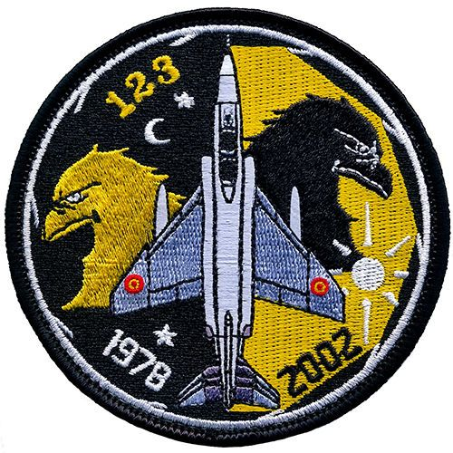 Parche-RF-4-Phantom-Ejercito-del-Aire-Espana-Spanish-Air-Force-patch-Military