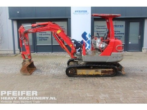 #Used #YANMAR #B25V  #excavator available at #Pfeifer #Heavy #Machinery. Year of construction #2005. #Diesel. Hours 3777. PHM-Id 06629.