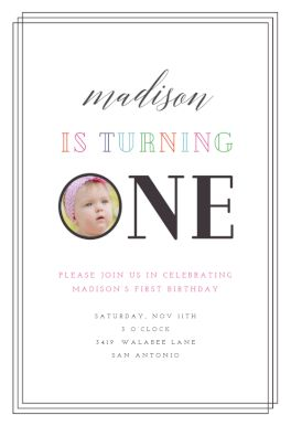 Baby Diva  - First Birthday Invitation Template. Customize, add text and photos. Print, download, send online or order printed! #firstbirthdayinvitation #1stbirthdayinvitation #freefirstbirthdayinvitation #1stbirthdaytemplate #invitations #printable #diy #template #birthday #firstbirthday #1stbirthday #party