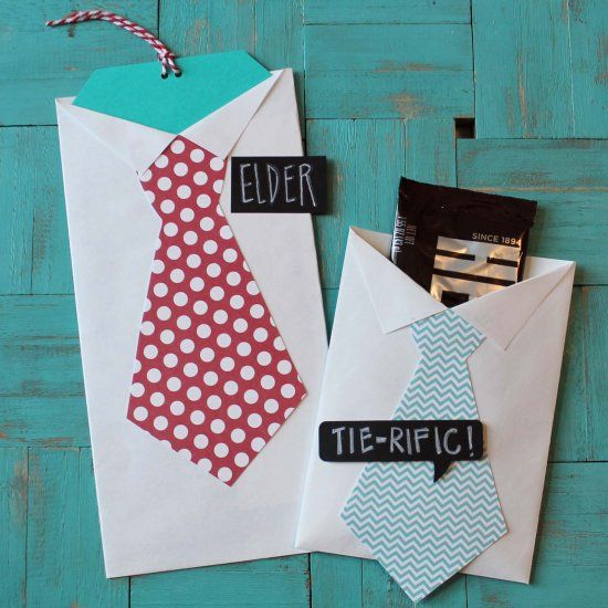 Making shirt and tie favors for invitations, gift cards or treats was never this easy!