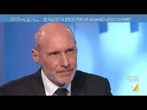 Gregorio De Falco a L'aria che tira (INTEGRALE) 8/2/2018