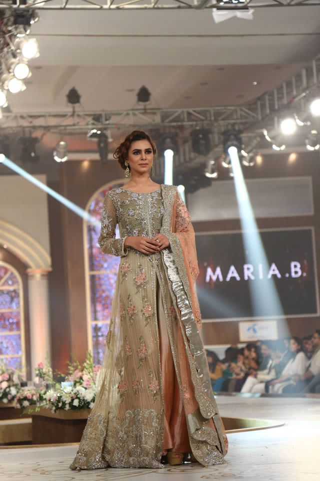 2015 Bridal Couture Week Maria B Formal Dresses Pics