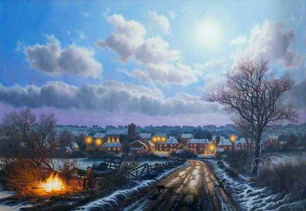 Winter Hill at Sulgrave, Northamptonshire  Van Der Putten