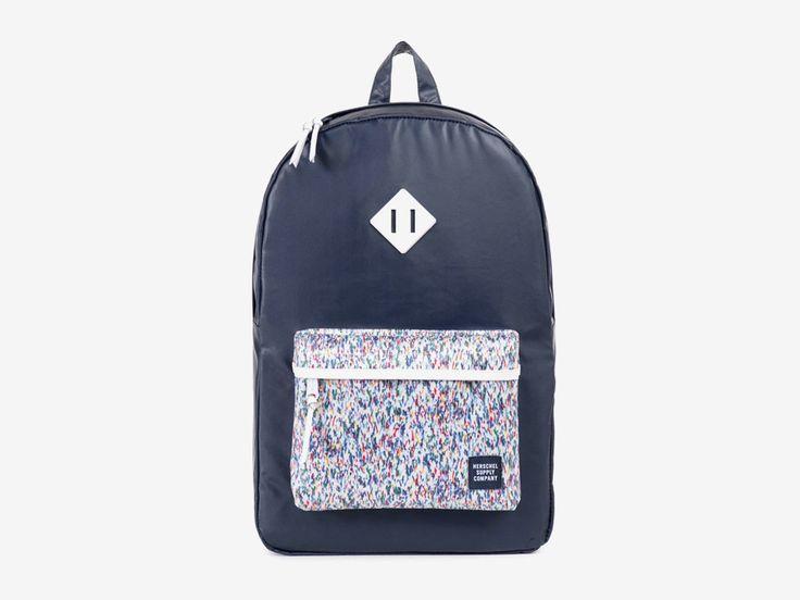 Batoh Herschel Supply & Liberty London – tmavě modrým barevné vzory – Heritage Backpack – Joshua and Graham Liberty print