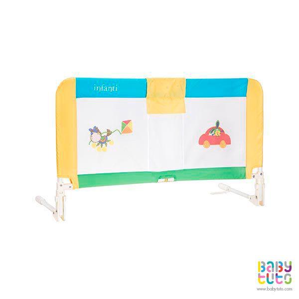 Baranda para cama Safe Dreams toy box, $19.990 (precio referencial). Marca Infanti: http://bit.ly/1TotfHu