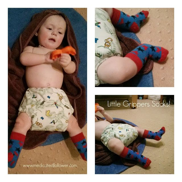 Medicated Follower of Fashion recommends @littlegrippers Socks with #stayontechnology