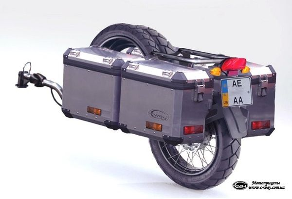 Adventure trailer for those longer rides...