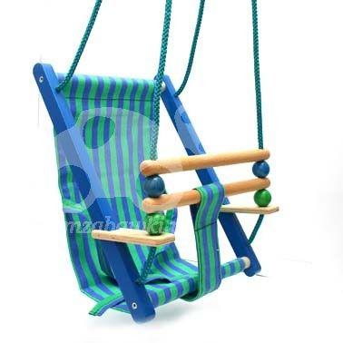Huśtawka BAJO - Bum zabawki drewniane dla dzieci