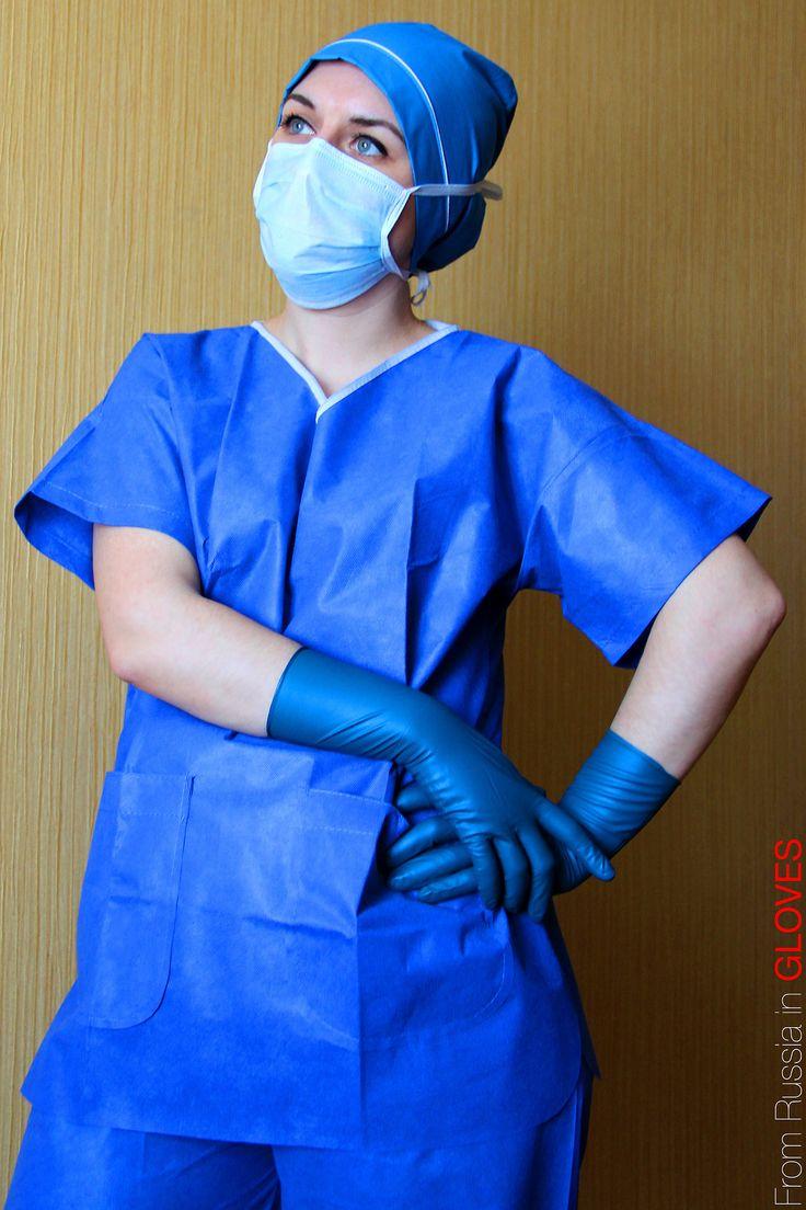 2 медсестры и негр в маске