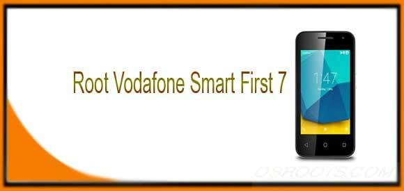 Root Vodafone Smart First 7 - Easy Root Vodafone