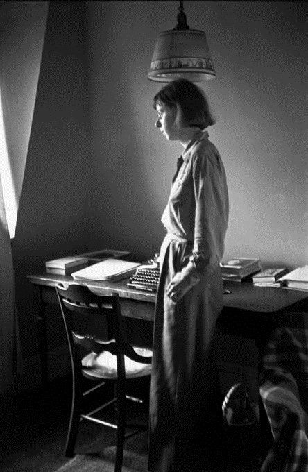 "Carson McCullers (""The Heart is a Lonely Hunter,"" ""The Ballad of the Sad Café,"" etc.) 1946, ph. by Henri Cartier-Bresson ~ ""Imagination takes humility, love, and great courage."""