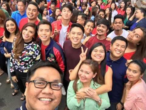 """This is the taping of the coming soon is the 2016 ABS-CBN Christmas Station ID: """"Isang Pamilya Tayo,"""" which means """"We Are One Family Together."""" We, as Kapamilyas and Filipinos in the Philippines and all over the world believe that together, we are one family together, regardless of the way of life. Robert Labayen of ABS-CBN's CCM will create the Christmas station ID this year. #ABSCBNChristmasStationID #IsangPamilyaTayo"""