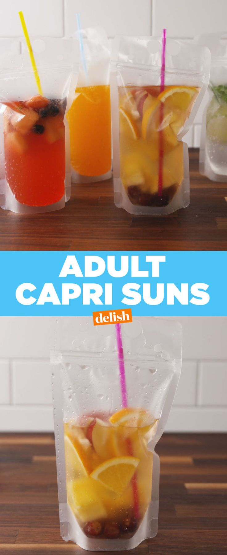 You Can Now Make Your Own Spiked Capri Suns  - Delish.com
