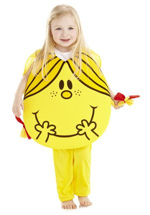 Mr. Men Little Miss Sunshine Dress-Up Costume