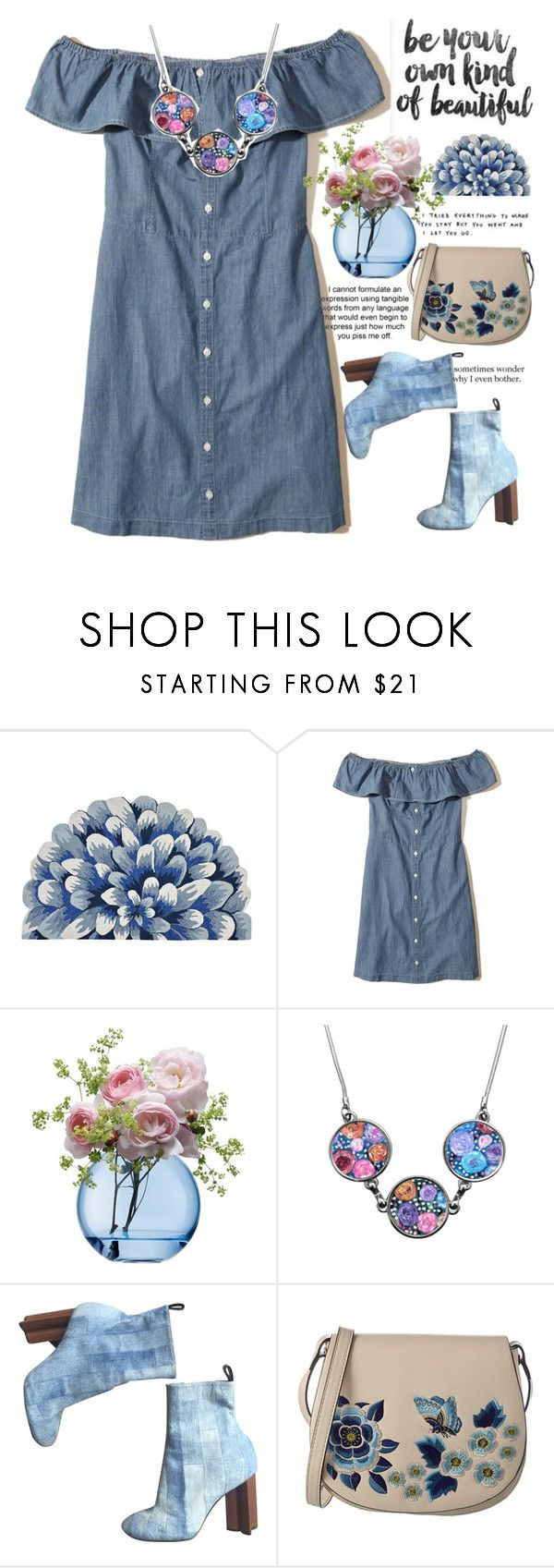 """""""194"""" by erohina-d ❤ liked on Polyvore featuring Hollister Co., LSA International, Louis Vuitton and French Connection"""